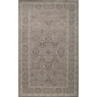 Rugs America Riviera Vintage Diamond 8' x 10' Area Rug in Light Green