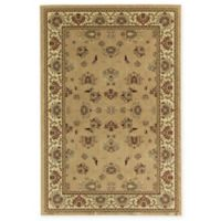 Rugs America New Vision Kashan Moss 5'3 x 7'10 Area Rug in Pink