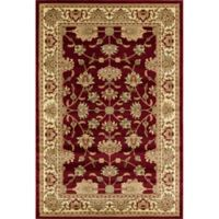 Rugs America New Vision Kashan Moss 7'10 x 10'10 Area Rug in Red