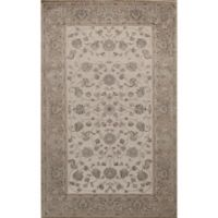 Rugs America Riviera Vintage Floral 2'7 x 4'11 Accent Rug in Ivory/Tan
