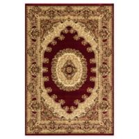 Rugs American New Vision Kerman 2' x 2'11 Accent Rug in Red