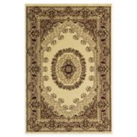 Rugs American New Vision Kerman 2' x 2'11 Accent Rug in Cream