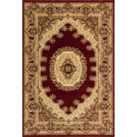Rugs American New Vision Kerman 7'10 x 10'10 Area Rug in Red