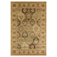 Rugs America New Vision Panel Berber 5'3 x 7'10 Area Rug in Pink