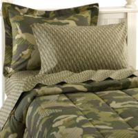Geo Camo Complete Twin Bed Ensemble