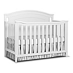 Sorelle Glendale 4-in-1 Convertible Crib in White