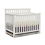 Sorelle Madrid 4-in-1 Convertible Crib in White