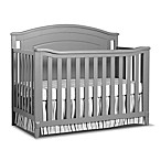 Sorelle Glendale 4-in-1 Convertible Crib in Grey