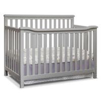 Sorelle Annie Elite 4-in-1 Convertible Crib in Grey