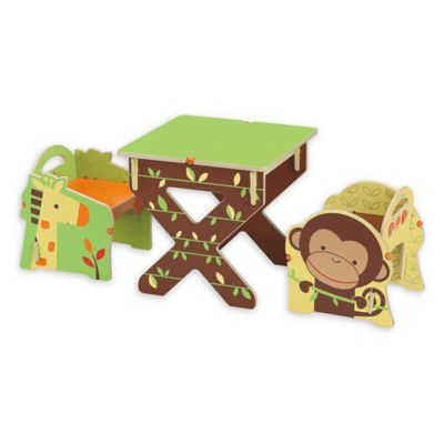 Buildex Safari Adventure Table and Chair Set  sc 1 st  Bed Bath u0026 Beyond & Buy Toddler Table and Chair Sets from Bed Bath u0026 Beyond