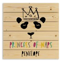 "Designs Direct ""Princess of Naps"" Wooden Wall Art"