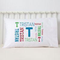 Repeating Boy Name Pillowcase