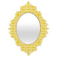 Deny Designs® Lisa Argyropoulos 29-Inch x 22-Inch Oval Electric Baroque Mirror in Zest