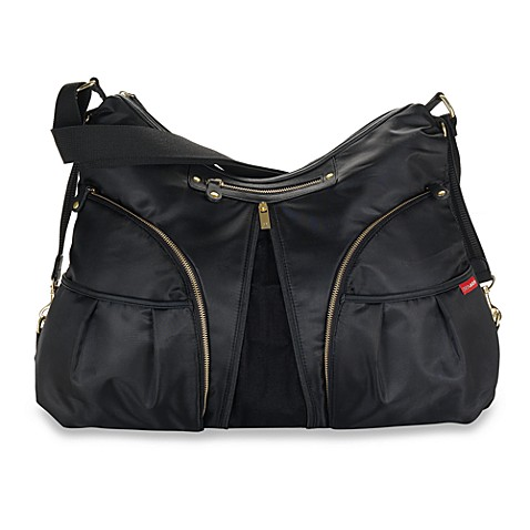 SKIP*HOP® Black Versa Diaper Bag