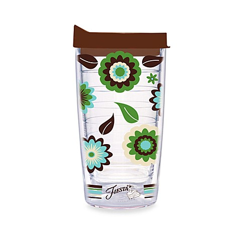 Tervis Fiesta Wrap Around 16-Ounce Tumbler in Cool Colored Floral