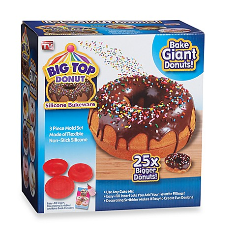 Big Top Donut Silicone Bakeware Bed Bath Amp Beyond