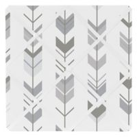 Sweet Jojo Designs Mod Arrow Memo Board in Dark Grey/Grey