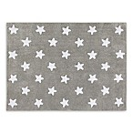 Lorena Canals Stars 4'x5' Area Rug in Grey/White