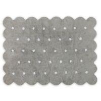 Lorena Canals Biscuit 4' x 5'3 Area Rug in Grey