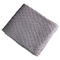 Brielle Glamour Throw Blanket in Grey/Silver