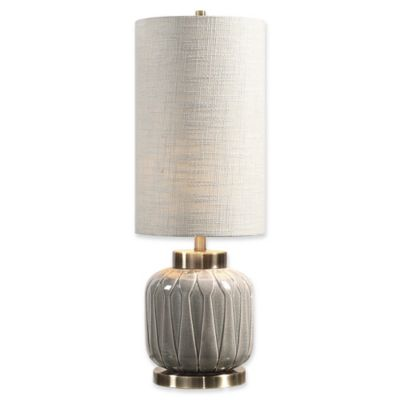 buy grey table lamp from bed bath & beyond