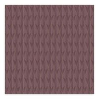 Eco Wall Vision Padma Geometric Texture Wallpaper in Purple