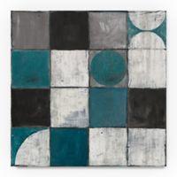 Trademark Fine Art Tango Detal II 18-Inch Square Canvas Wall Art