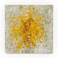 Trademark Fine Art Danhui Nay Summer Blocks 14-Inch Square Canvas Wall Art
