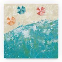 Trademark Fine Arts Beach Days 14-Inch Square Canvas Wall Art