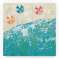 Trademark Fine Arts Beach Days 35-Inch Square Canvas Wall Art