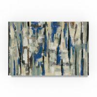 Trademark Fine Art Spring Stripes 22-Inch x 32-Inch Canvas Wall Art