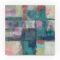 Trademark Fine Art Island Hues I Bright 24-Inch Square Canvas Wall Art