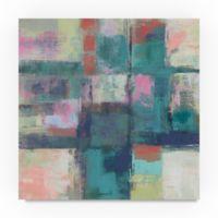 Trademark Fine Art Island Hues I Bright 35-Inch Square Canvas Wall Art