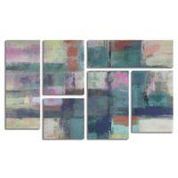 Trademark Fine Art Island Hues I Bright 46-Inch x 28-Inch Canvas Wall Art