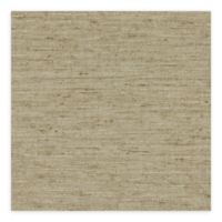Warner Textures Bennie Faux Grasscloth Wallpaper in Brown