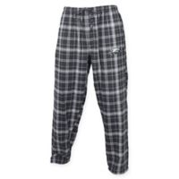 NFL Philadelphia Eagles Men's 2XL Flannel Plaid Pajama Pant with Left Leg Team Logo