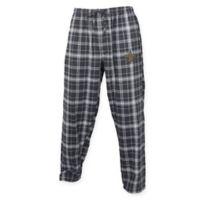 NFL New Orleans Saints Men's 2XL Flannel Plaid Pajama Pant with Left Leg Team Logo
