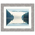 Mirror Lake 36-Inch x 30-Inch Framed Wall Art
