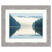Mirror Lake 36-Inch x 30-Inch Framed Wall Art