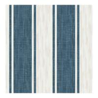 A-Street Prints Ryoan Stripes Wallpaper in Blueberry