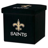 NFL New Orleans Saints Storage Ottoman