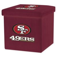 NFL San Francisco 49ers Storage Ottoman