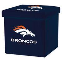 NFL Denver Broncos Storage Ottoman