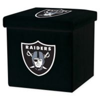 NFL Los Angeles Raiders Storage Ottoman
