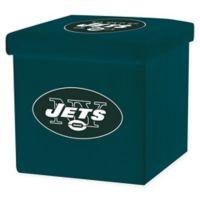 NFL New York Jets Storage Ottoman