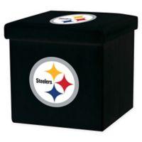 NFL Pittsburgh Steelers Storage Ottoman