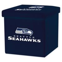 NFL Seattle Seahawks Storage Ottoman