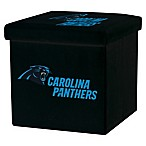 NFL Carolina Panthers Storage Ottoman