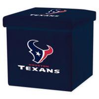 NFL Houston Texans Storage Ottoman