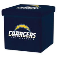 NFL Los Angeles Chargers Storage Ottoman